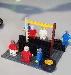 Teilnehmer-Modell mit Lego Serious Play