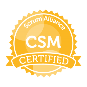 Certified Scrum Master Zertifikat ScrumAlliance